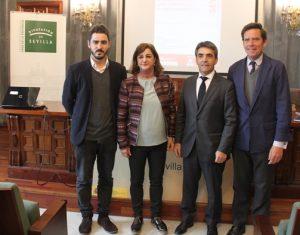 Juanma Lamet, Encarna Aguilar, Victorino Martín y Eduardo Dávila.